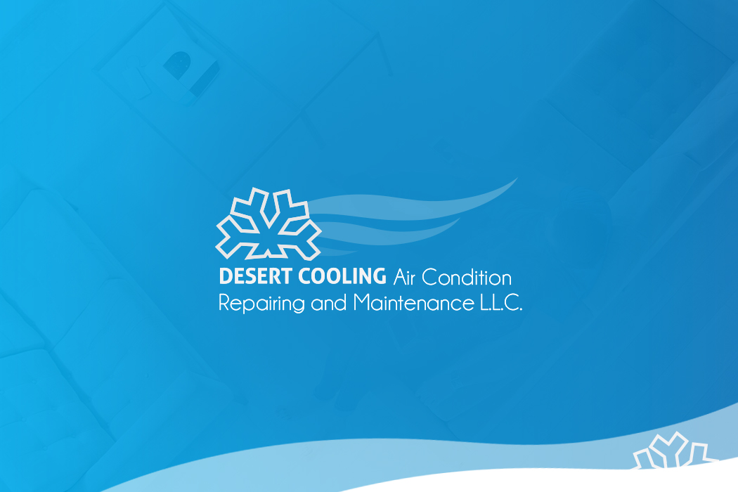 Logo Design for Desert Cooling, a Heating, Ventilating & Air Conditioning Service in Dubai