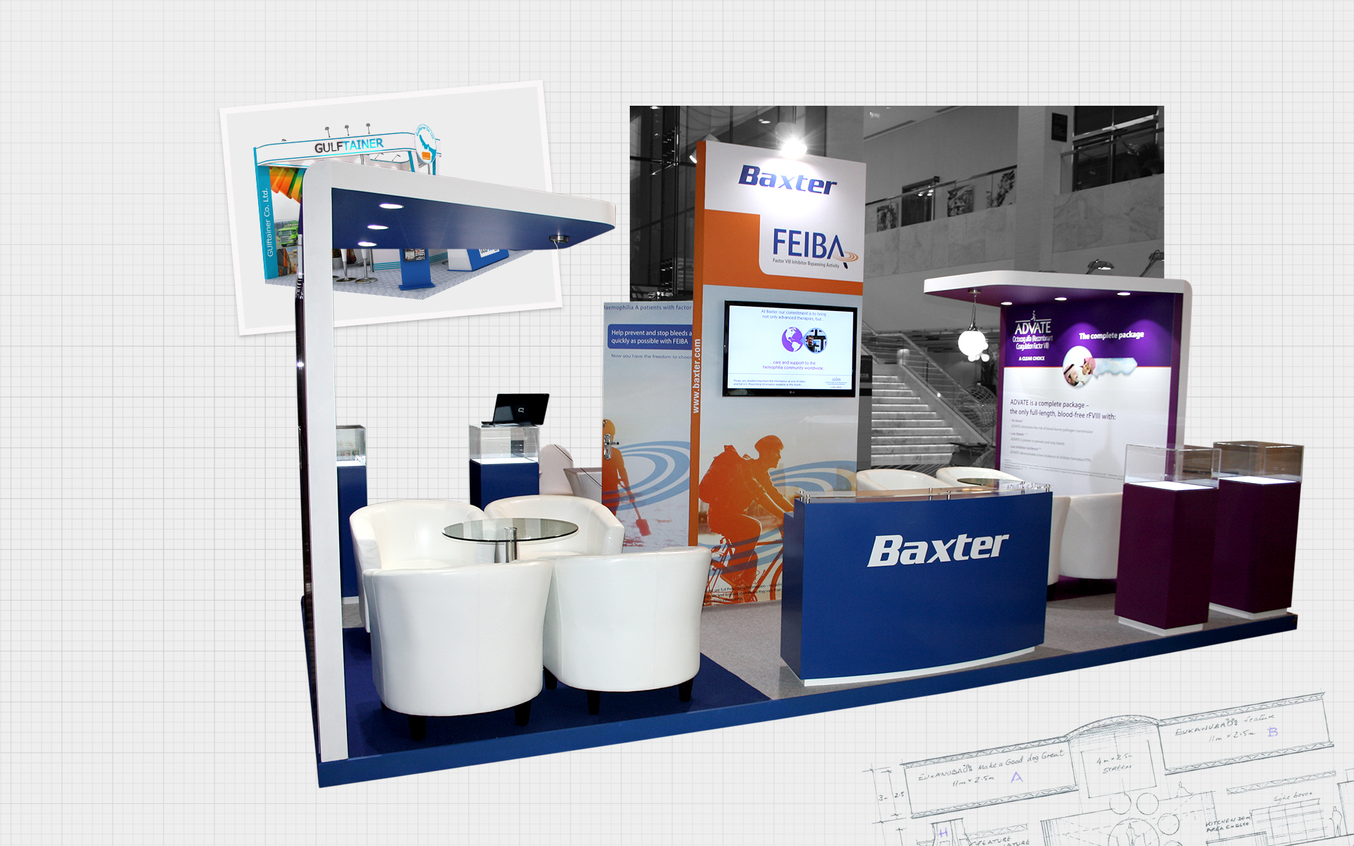 Exhibition Stand Design Services by Cornerstone