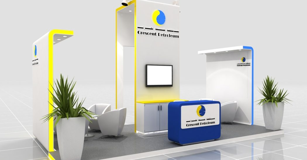 Crescent Petroleum Exhibition Design Perspective View 1 by Cornerstone