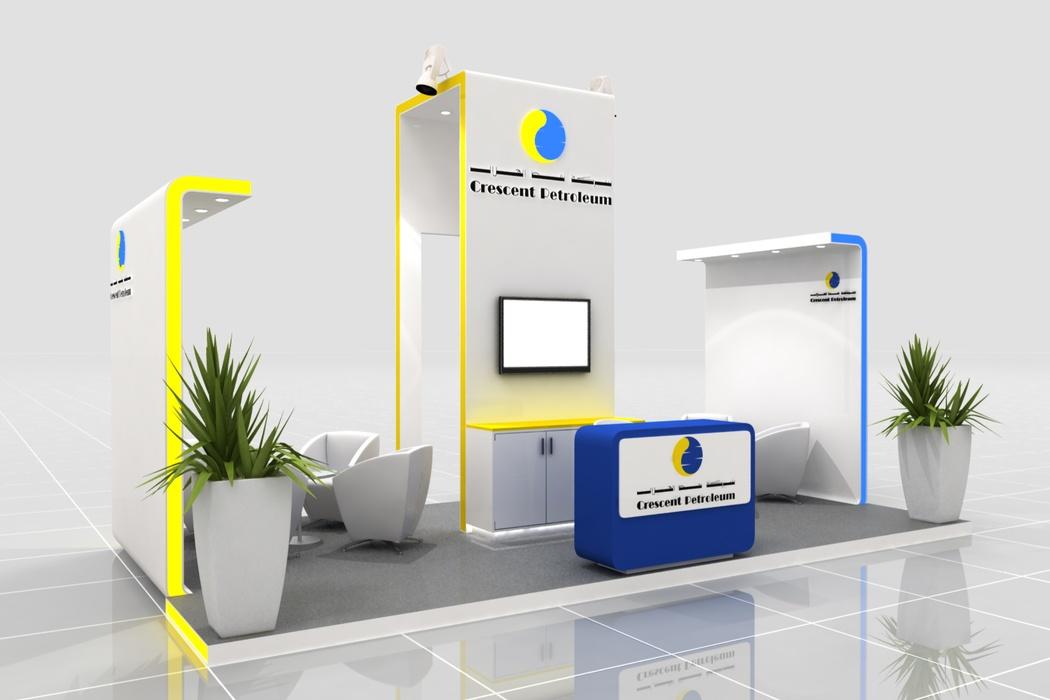 Crescent Petroleum Exhibition Design Perspective View 1 by Cornerstone