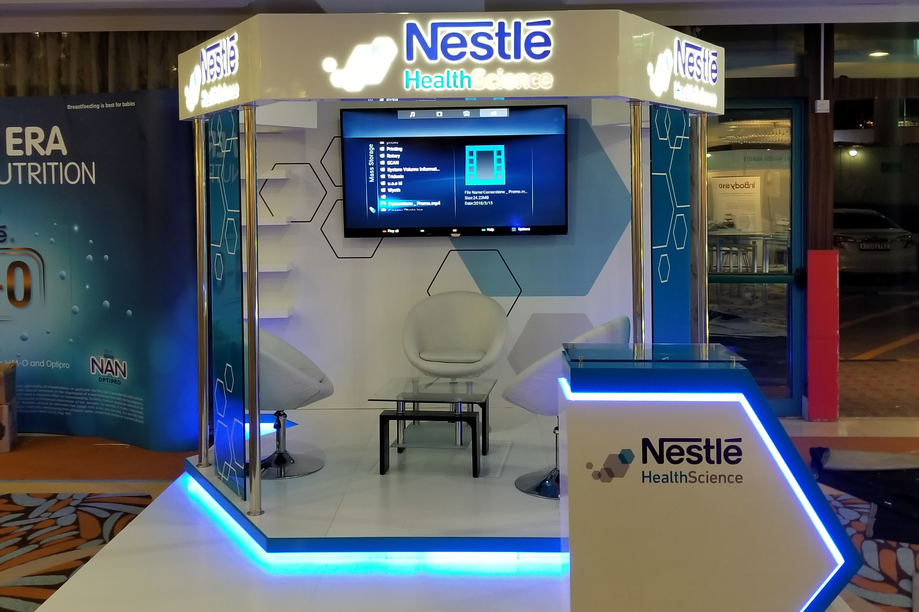 Nestle Exhibition Stand 4 by Cornerstone