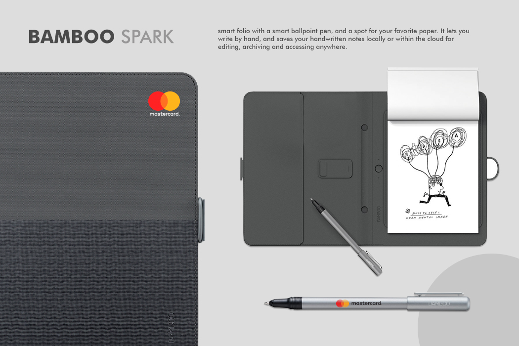 MasterCard Bamboo Spark Smart Folio Gift by Cornerstone